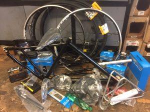 Gravel-Bike Cust-Tec, Bausatz